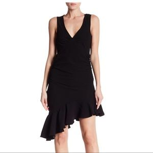Romeo and Juliet Couture Black asymmetrical Dress